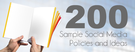 200 Social Media Policies and Ideas